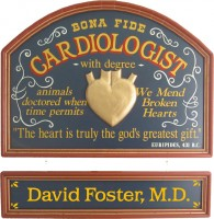 Cardiologist Gift | Cardiologist Sign | Office Decor