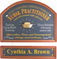 Nurse Practitioner Sign | Nurse Practitioner Plaque | Nurse Practitioner Gift